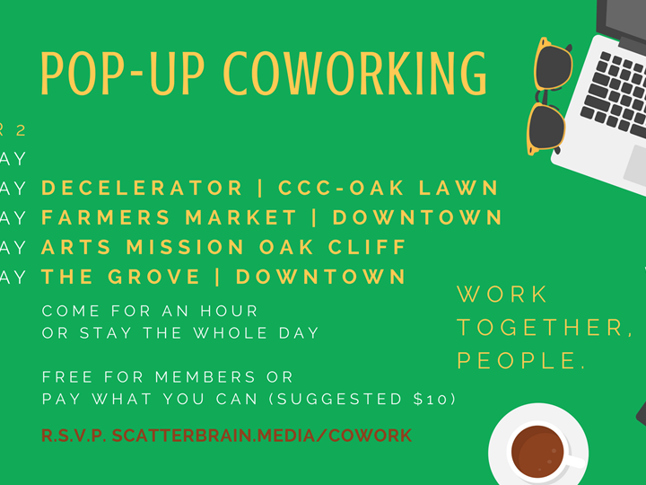 Why PopUp Coworking?